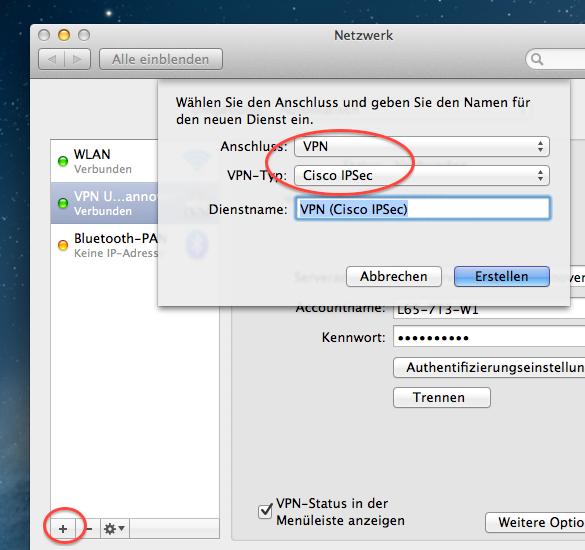 Der VPN-Dienst an der Leibniz Universität Hannover